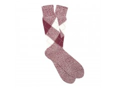 Argyle socks wine | Uppersocks.com