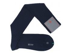 Chaussettes Bleu-marine. Dévouvrez les plus belles chaussettes italiennes | Uppersocks.com