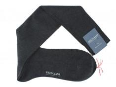 Bresciani cotton lisle over the calf socks