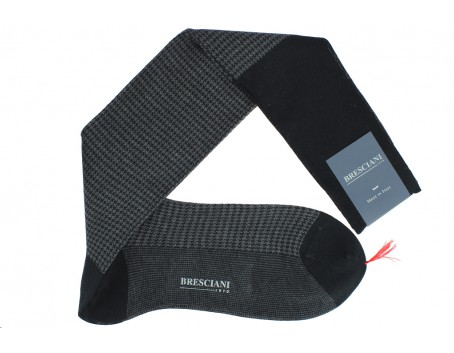 Bresciani Cotton lisle socks