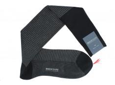 Bresciani houndstooth socks | Uppersocks.com