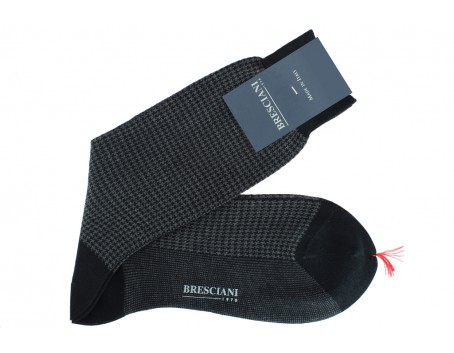 Bresciani Cotton lisle socks