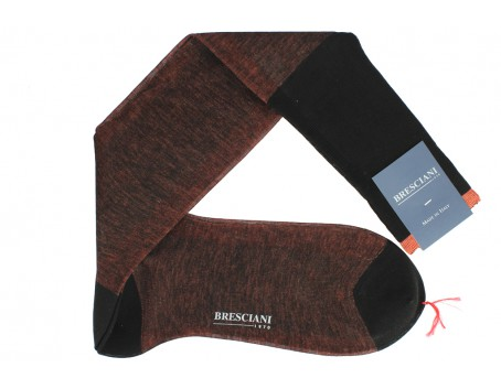 Bresciani Marron - Orange