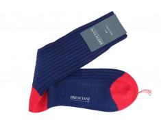 Chaussettes bleues Bresciani