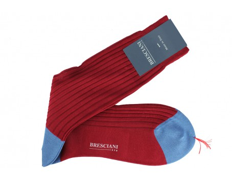 Bresciani Crimson - Sky Blue