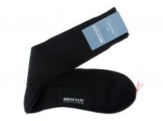 Bresciani black over the calf socks