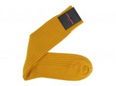 Chaussettes jaune ocre idéales pour l'automne hiver | Uppersocks.com