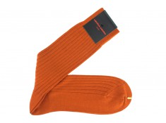 Wool socks orange of Palatino | Uppersocks.com