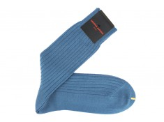 Blue socks made in Italy | Uppersocks.com