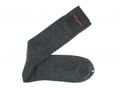 Wool socks grey Palatino Italia | Uppersocks.com