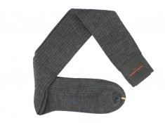 Chaussettes hautes anthracite | Uppersocks.com