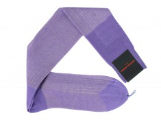 One of the Palatino famous pair, the Cotton lisle socks light lilac | Uppersocks.com