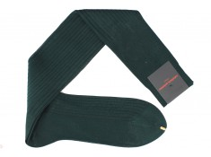 Palatino green, cotton lisle, over the calf socks