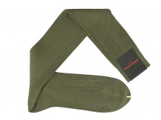 Green-olive socks - solid color | Uppersocks.com