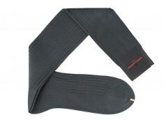 Chaussettes grise Fil d'Ecosse | Uppersocks.com