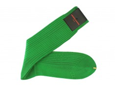 Green socks Lisle cotton | Uppersocks.com