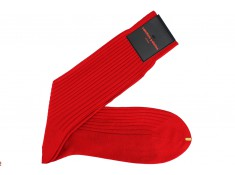 Chaussettes rouge | Uppersocks.com
