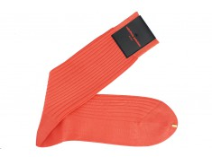 Chaussettes couleur Corail Homme | Uppersocks.com