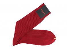 Red socks Carmin | Uppersocks.com