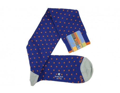 Gallo Royal blue - Orange