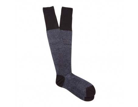 Calzificio Palatino Chaussettes Laine Grey